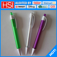 promotional advertising ballpoint pen with logo printed