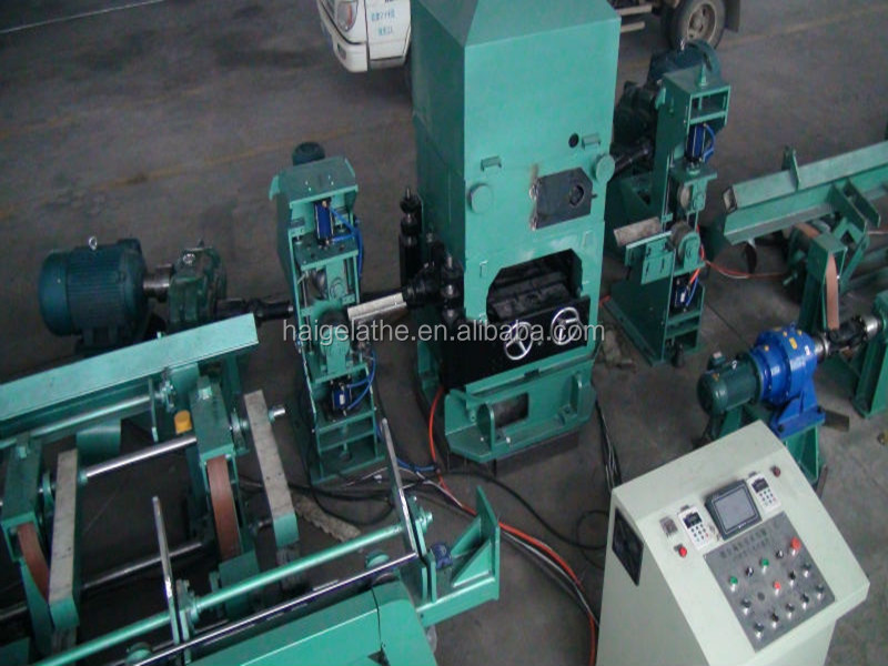 wire tube bar pipe straightening and cutting machine with two rolls in machinery processing