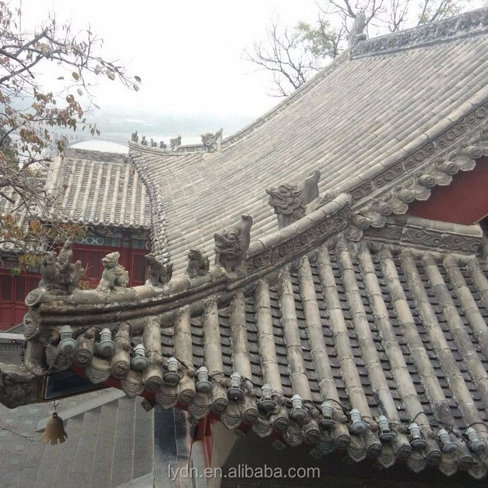Chinese Palace roof tiles