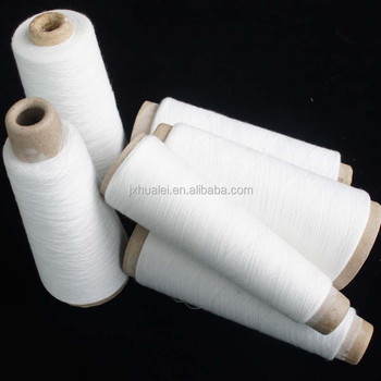 alibaba china manufacturer 100% polyester recycled yarn