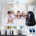 WCDMA 3G wireless home camera GSM alarm system with Night Vision Camera