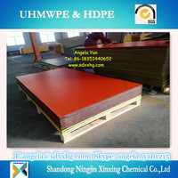 HDPE board double color 3-layer / Anti-UV 3-layer virgin HDPE board/sheet/panel in double color, Orange peel surface extruded H