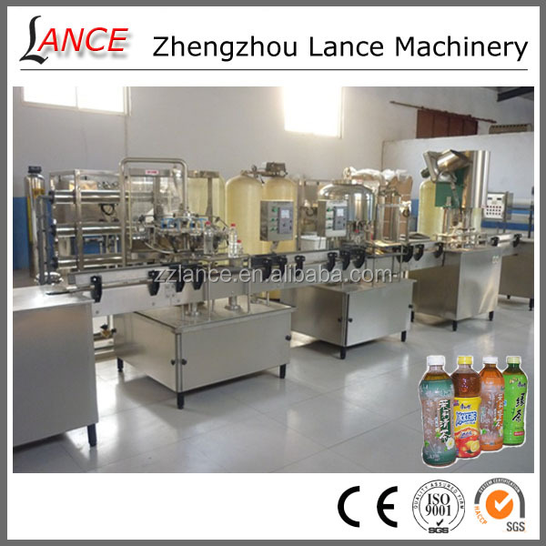 Factory directly sale filling capping and labeling machine/ water, juice filling production line with video