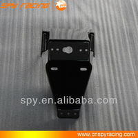 Racing atv plastic Rear plate and light holder parts