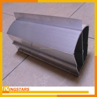 Industrial extruded aluminum enclosure