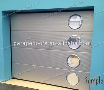 Sectional Garage Door -- Various Design, Various Colors