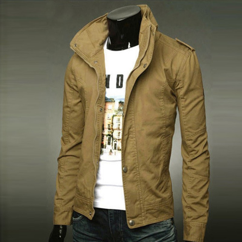 Wholesale Alibaba Fashion Italy Style Men Plain Jacket Made In China