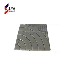 Plastic paving patterns concrete manual concrete hollow block mold