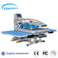 Great quality digital t-shirt flat heat press machine with two location