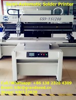for led making and smt line,gsd-YS1200 semi- automatic pcb printer , printing machine with factory price