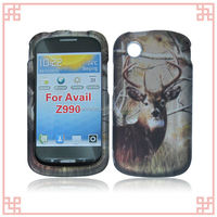 hot selling deer tree design hard plasitc case for ZTE Avail / Merit Z990