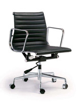 popular China leather modern design charles office chair with armrest