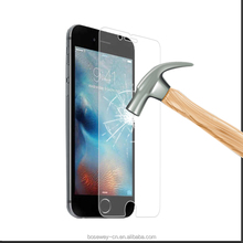 Best screen protector! 9H tempered glass screen protector for iphone 6 6s exactly cut
