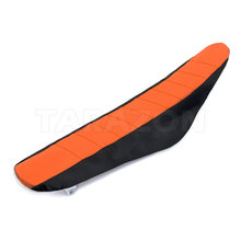 Aftermarket anti slip PVC motorcycle seat cover for KTM SX SXF125 450