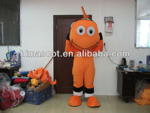 HI CE good quality nemo make adult fish costume