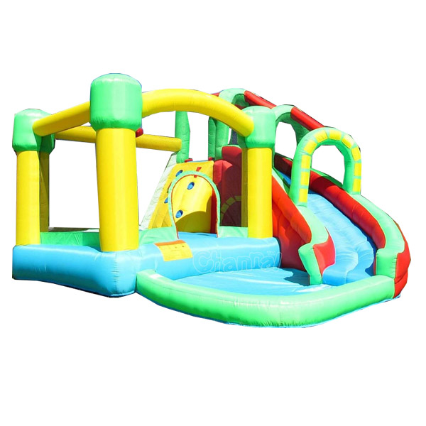 nice quality inflatable water slide/inflatable combo jumping castle for toddlers
