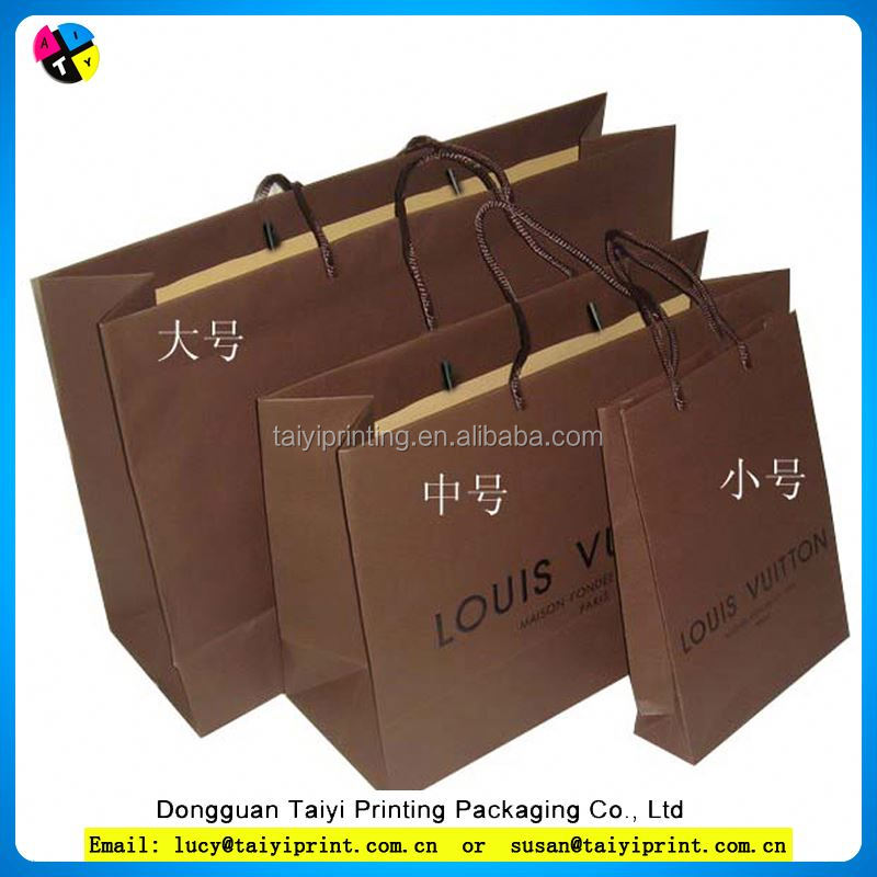 Customized printed food contact paper bags for deli food