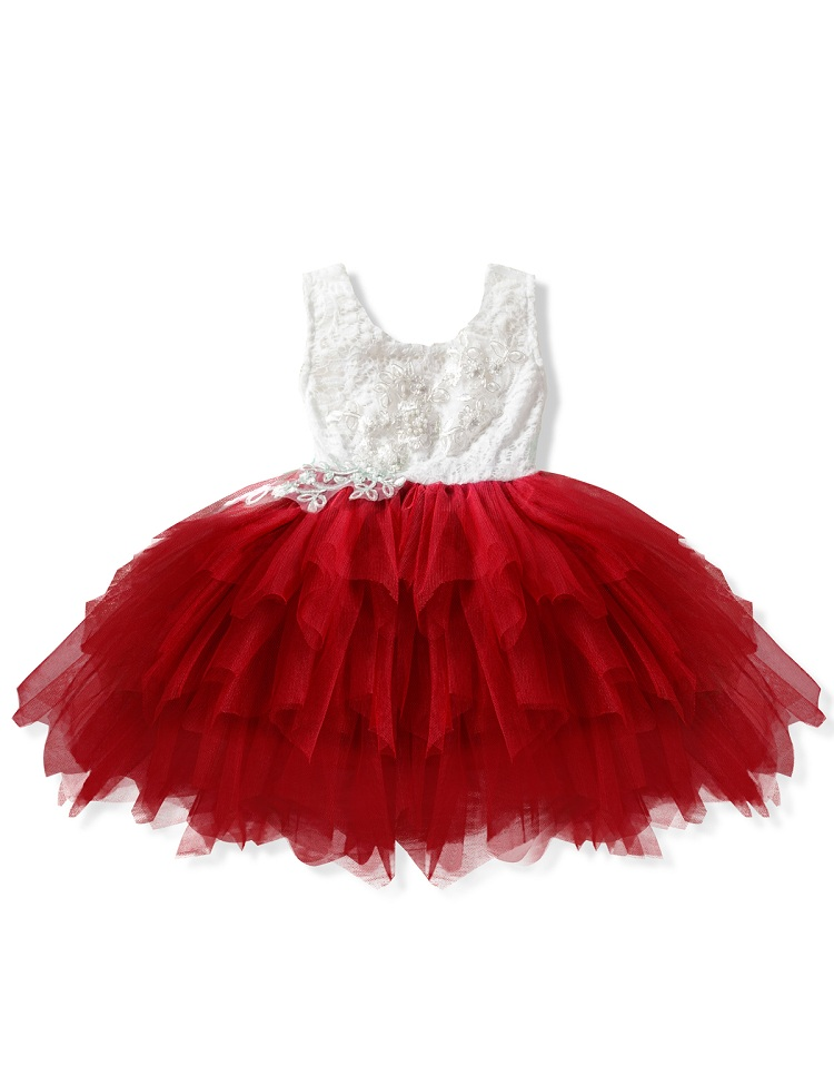 Pabasana tutu girls dance french tulle lace dress skirt for birthday party with quality warranty