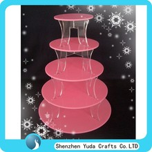5-Tier Acrylic Cupcake Dessert Tower /cake stands