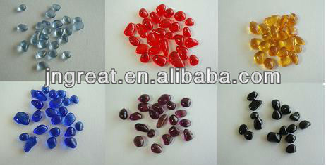 Decorative Colored Glass Bead