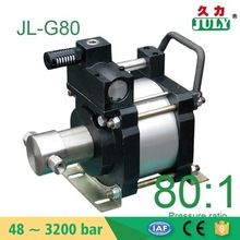 Hot seller JULY model: AT40 300 bar pressure testing air hydraulic pump air driven high pressure booster