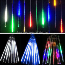 waterproof Meteor Shower Falling Star/Rain Drop/Icicle Snow outdoor Garden LED Xmas Christmas Tree String Light