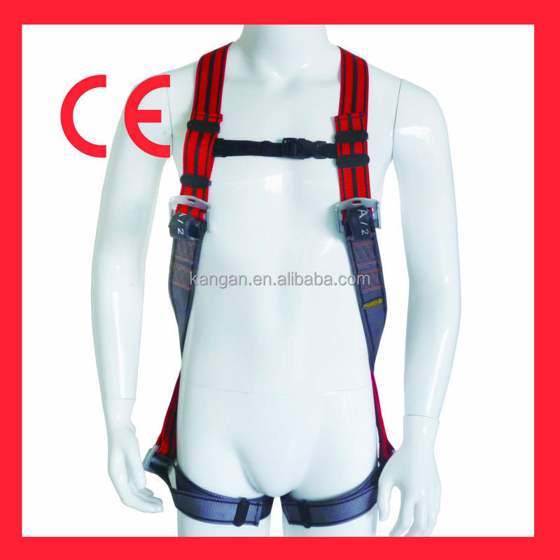 Adjustable Full body safety harness comform EN 361