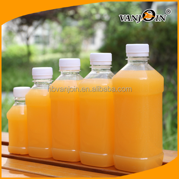 Square Disposable Plastic Drinking Water Bottle Manufacture