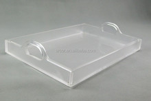 Popular acrylic hotel bathroom amenities tray
