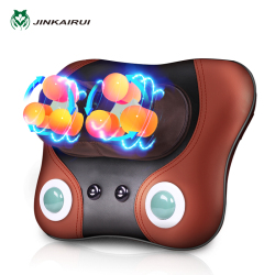 2018 Hot Sales Car Massage Pillow Pillow Neck Massage Pillow 2 Thermal Jade Therapy