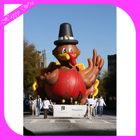 giant inflatable inflatable Turkey model,Thanksgiving replica inflatable Turkey model for decoration outside