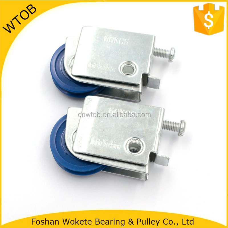 Stamping Parts with Single Roller Wheel Bearing for Window Door Iron Gate Design Sliding Gate Hanging Roller