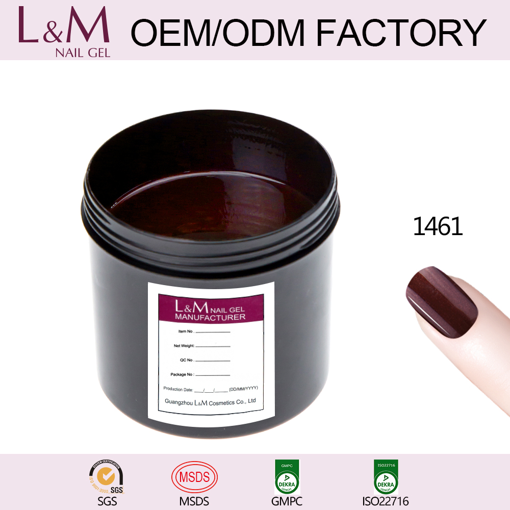 Lvmay Hot selling High quality Gorgeous color uv gel nail polish lidan