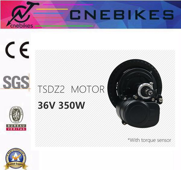 TSDZ2 350w mid drive e-bike motor conversion kit for electric bike