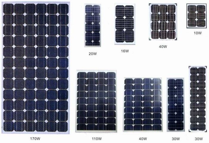 Y-SOLAR 5W Polycrystalline Solar Cells for Household PV System