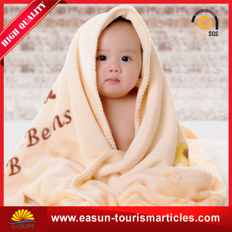 Cheap wholesale thick life comfort kids blankets