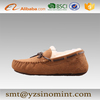 Fashionable Cow Suede Artifical Moccasin Lady
