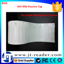 ISO-18000 6C Gen 2 Rfid Uhf Passive Book Tag/ label/ Sticker for library/document Management System