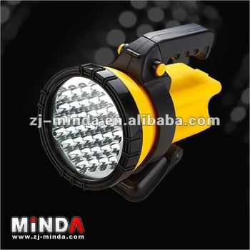 MD116L 37led potbale rechargeable led spotlight
