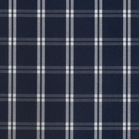 stock check cotton poplin fabric