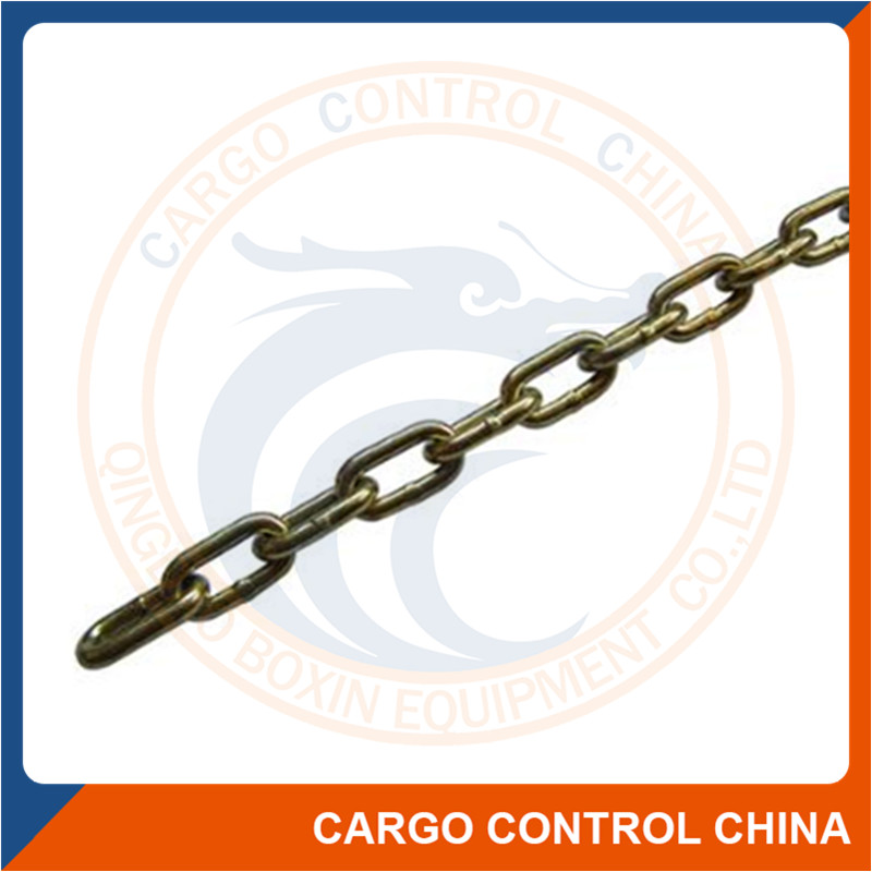 7046 Norwegian standard galvanized steel connecting link chain