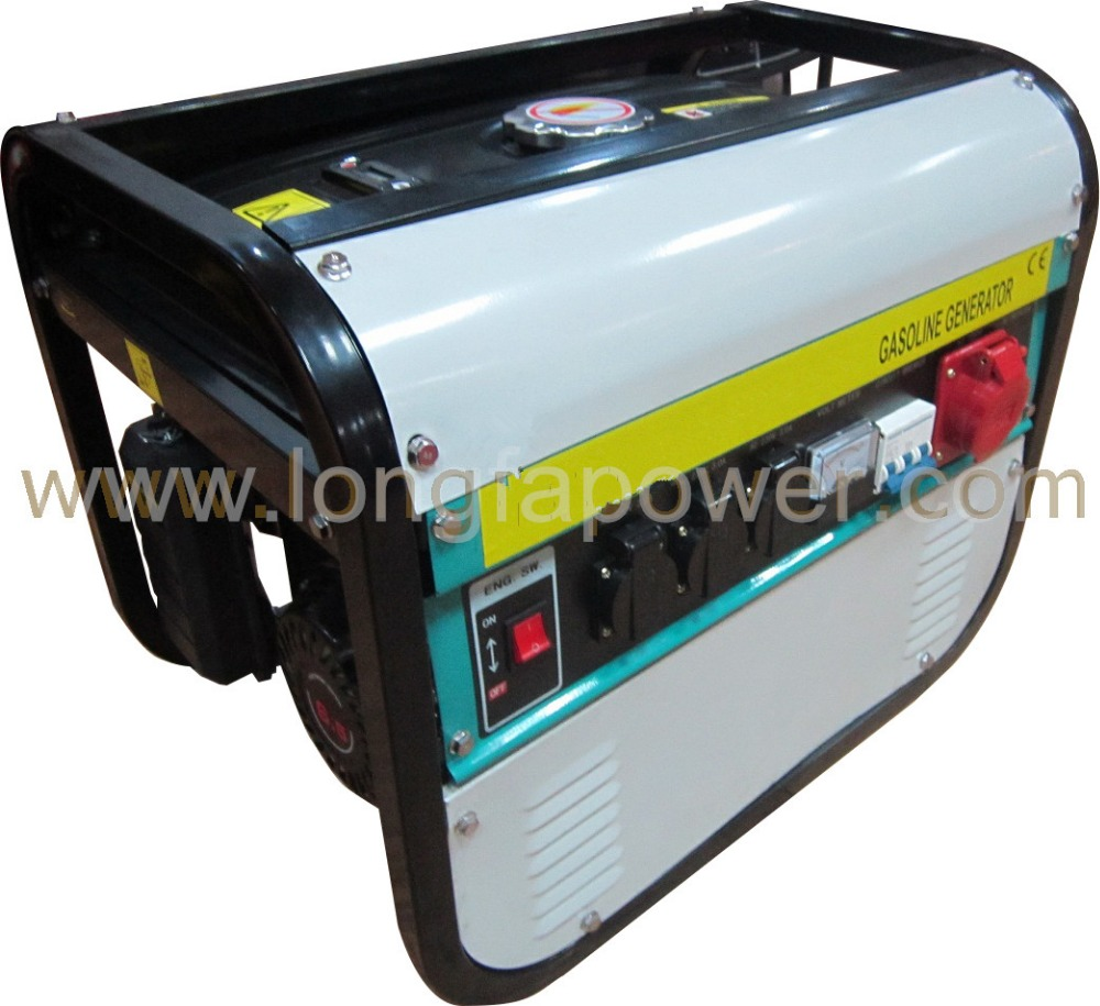 8500W Strong Square Frame Three 3 Phase Gasoline Generator