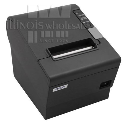 Epson TM-T88IV POS Thermal Printer, Charcoal, USB/RS232 Interface