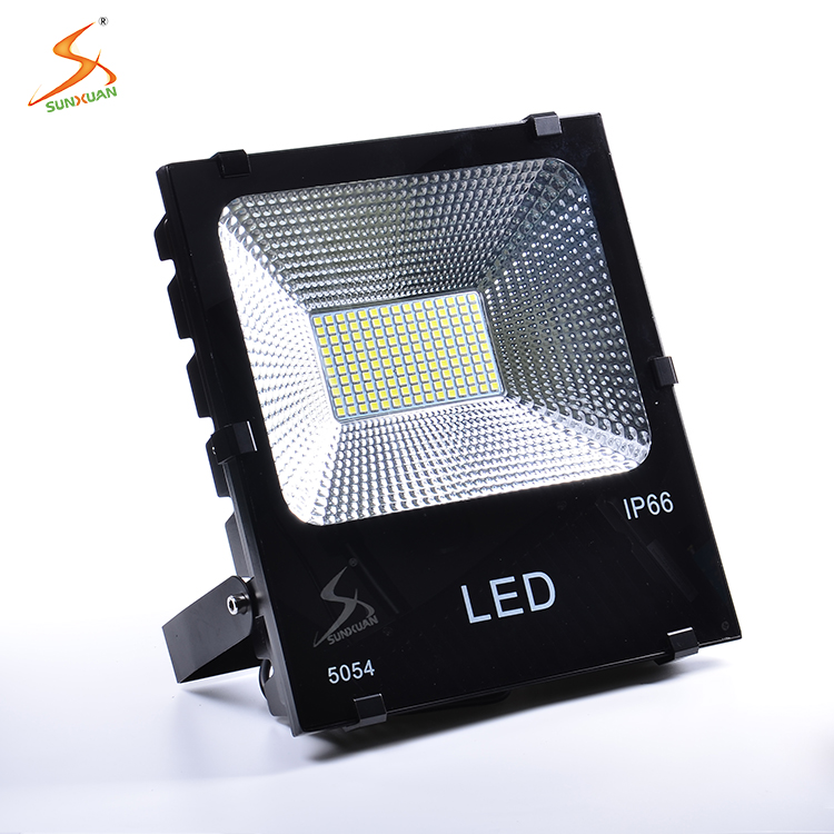 Waterproof energy saving portable aluminum smd color changing 150w led building flood light