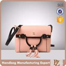 5902-2017 Guangzhou PU leather high end Satchel women bag designer cross body handbags lady shoulder bags