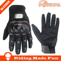 RIGWARL New Black Protective Full Finger Cheap Racing Waterproof Motorbike Gloves