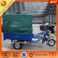 200cc aircooled engine three wheel trike with tent