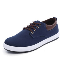 2017 new style canvas shoes men's casual shoes factory price