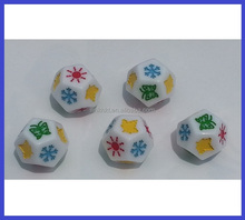 Plastic Custom Engraved Dice