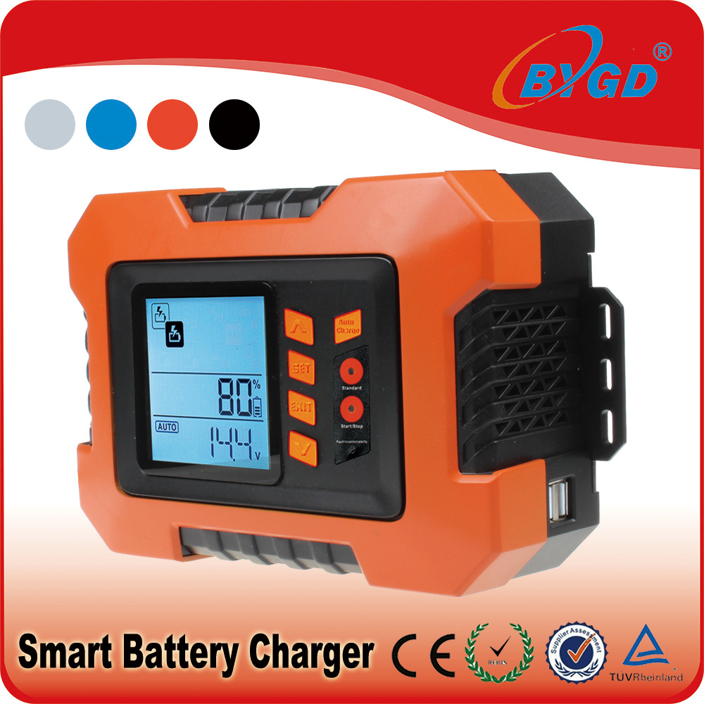 12 volt battery charger deep cycle for car